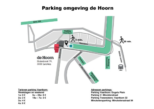 Plan Parking de Hoorn